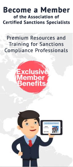 Become a members of the Association of Certified Sanctions Specialists